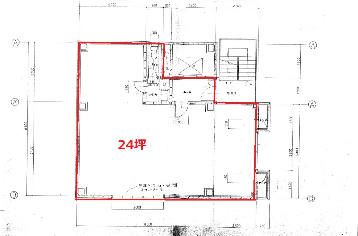 飯田橋I・Sビル_3F平面図